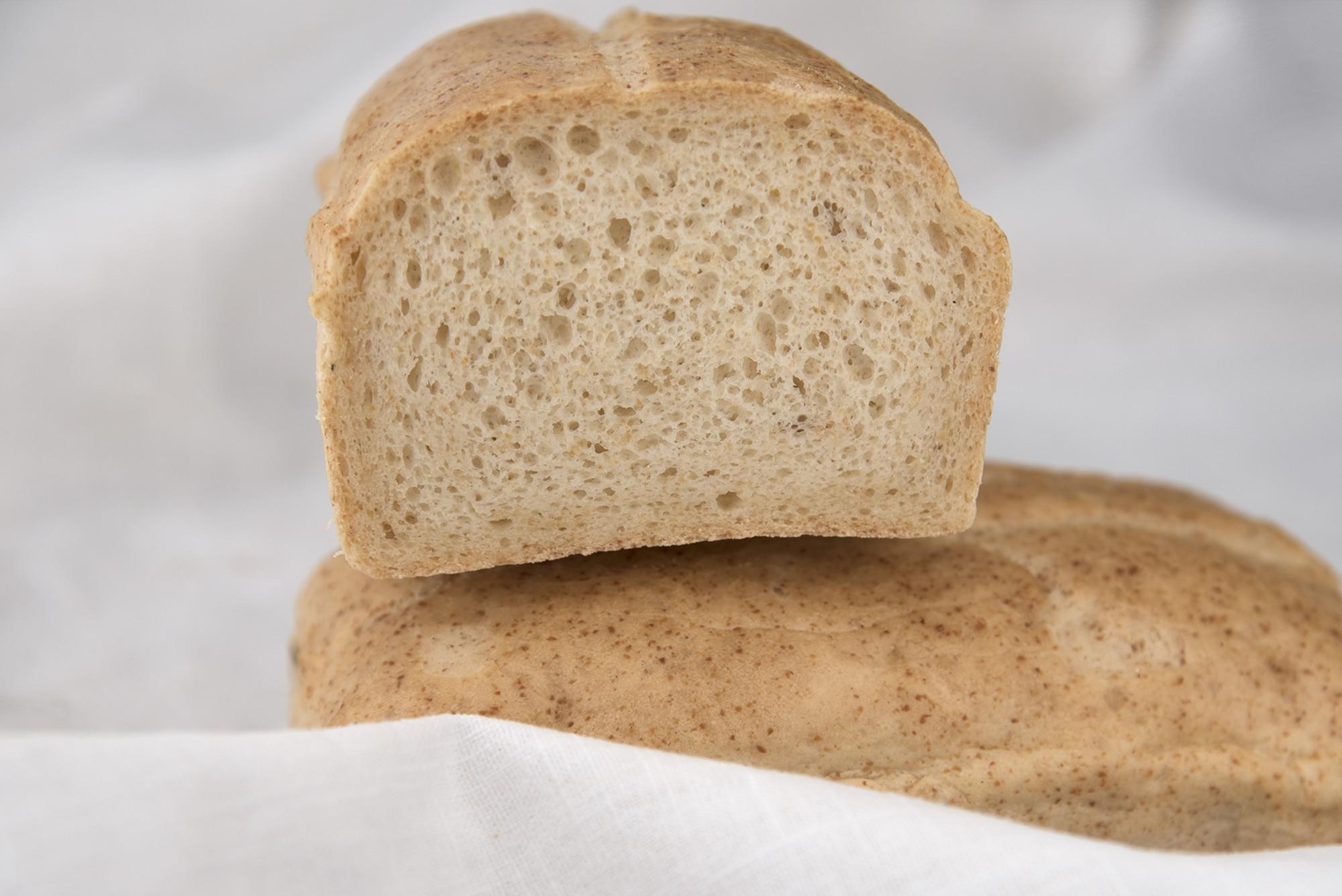 Grundteig glutenfreies helles Brot