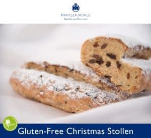 Christmas Stollen gluten-free