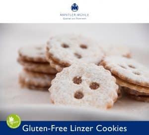 Linzer Cookies gluten-free