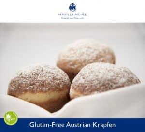 Austrian Krapfen gluten-free