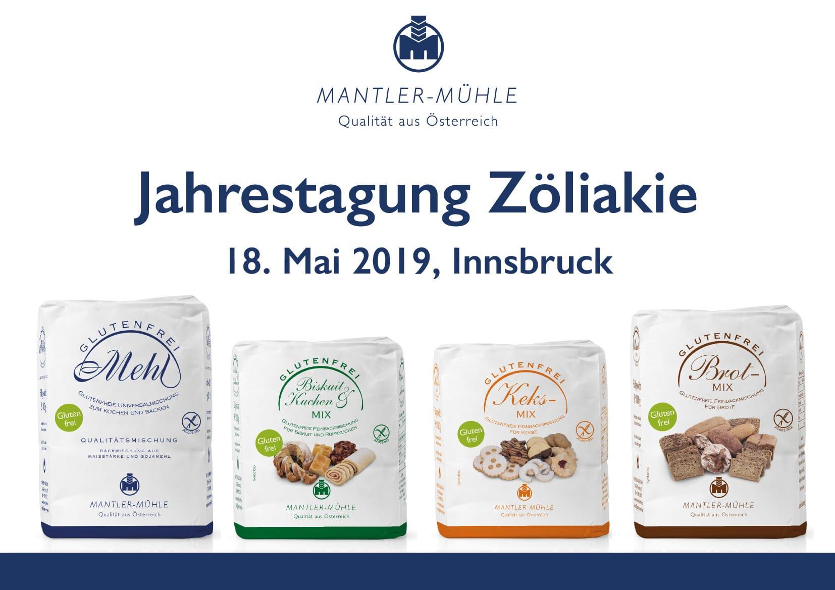 Jahrestagung Zöliakie 18. Mai 2019, Innsbruck