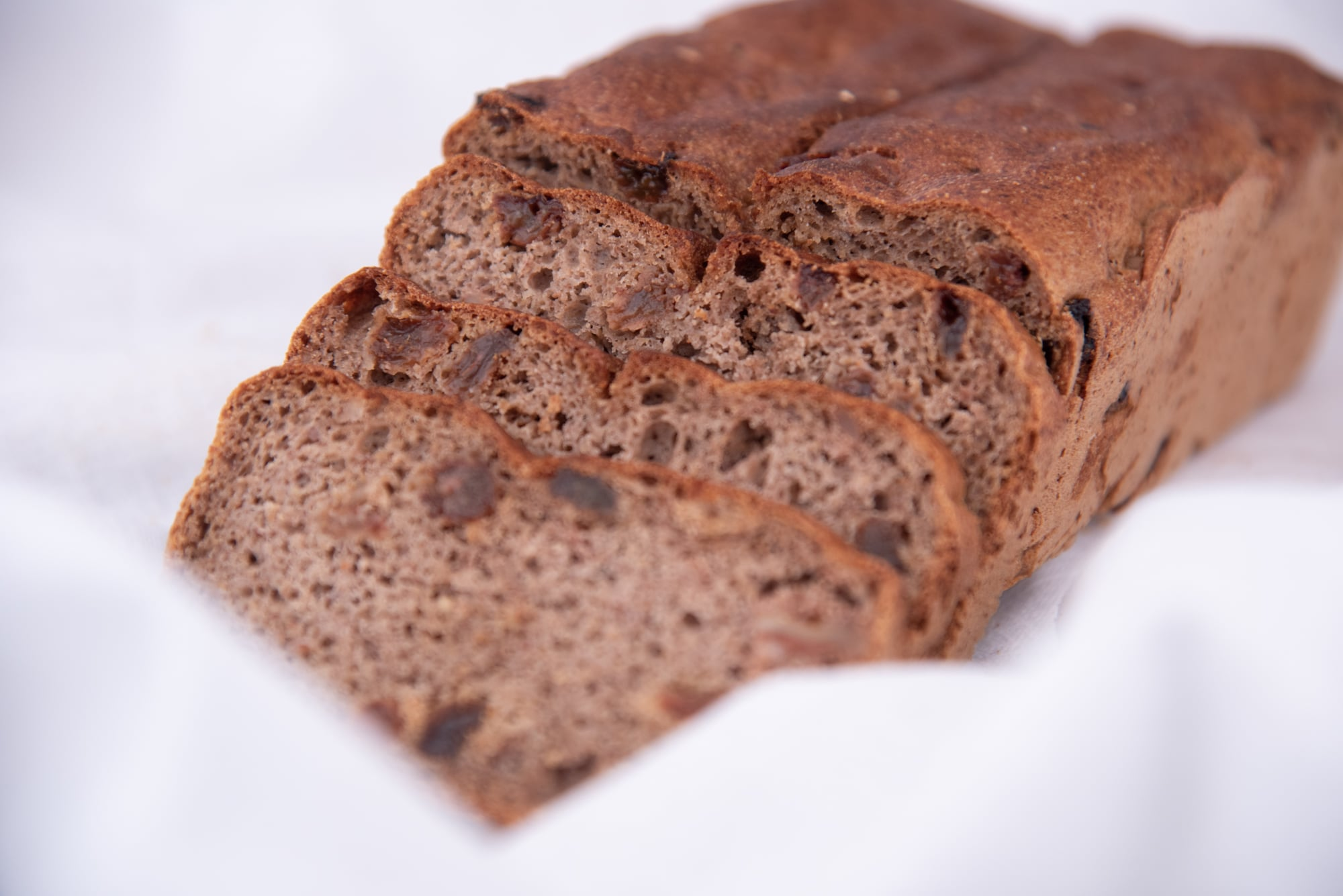 Gluten-Free Nut and Raisin Bread