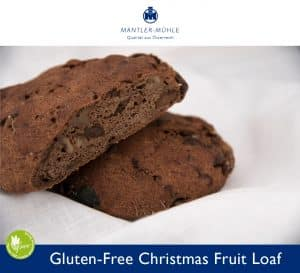 Christmas Fruit Loaf gluten-free