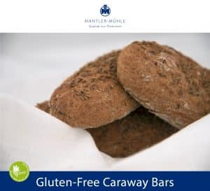 Gluten-Free Caraway Bars