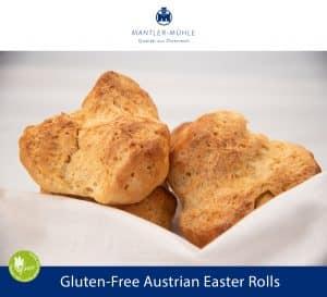 Austrian Easter Rolls gluten-free