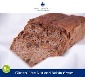 Nut and Raisin Bread Gluten-Free