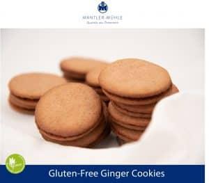 Ginger Cookies gluten-free