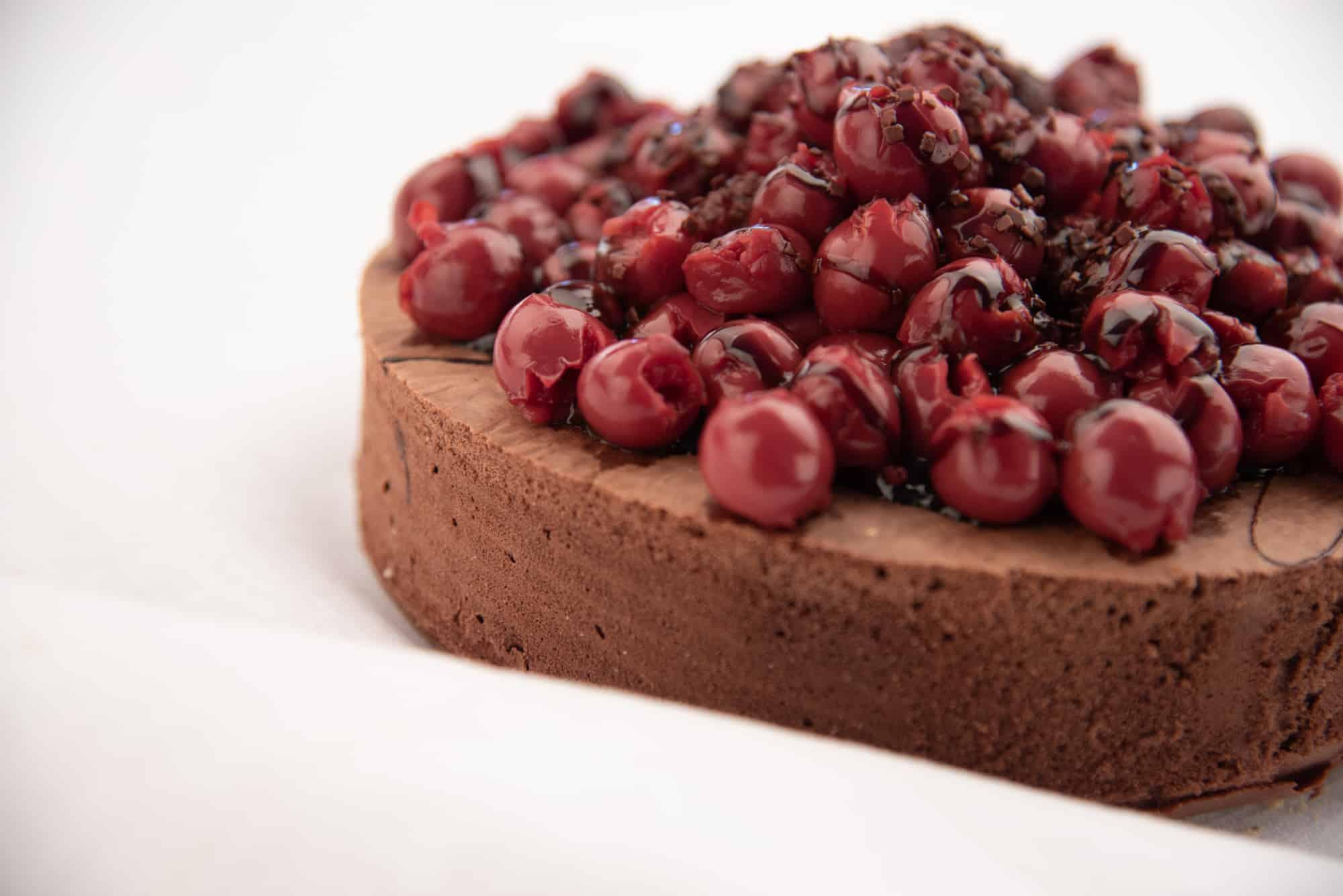 glutenfreier Schokoladenbiskuit-Tortenboden