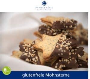 Mohnsterne glutenfrei