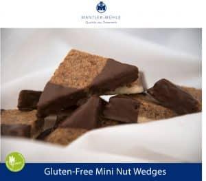 Mini Nut Wedges gluten-free