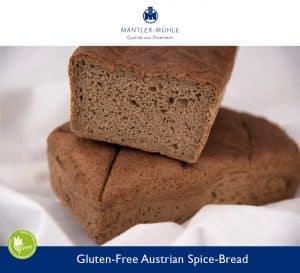 Austrian Spice-Bread Gluten-Free