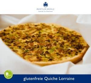 Quiche Lorraine mit glutenfreiem Mehl