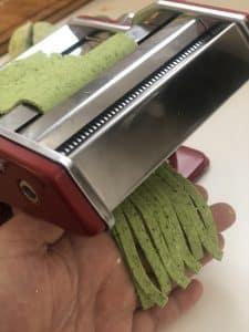 Bärlauch-Nudeln mit Mantler Mehl ohne Gluten