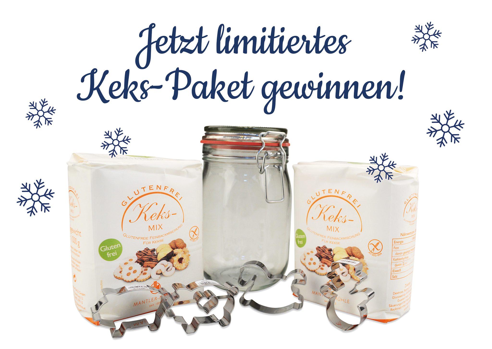 3×1 Limited Edition: Keks-Paket Weihnachten gewinnen!