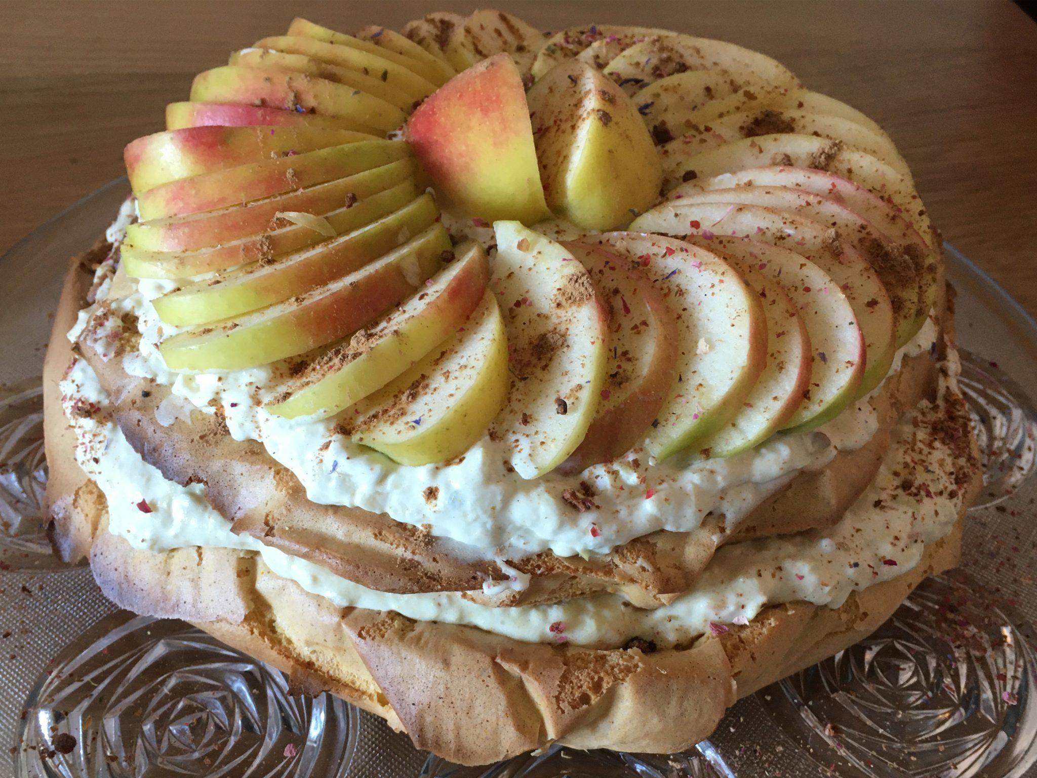 Glutenfreie Apfel-Tiramisu-Torte von Sarah