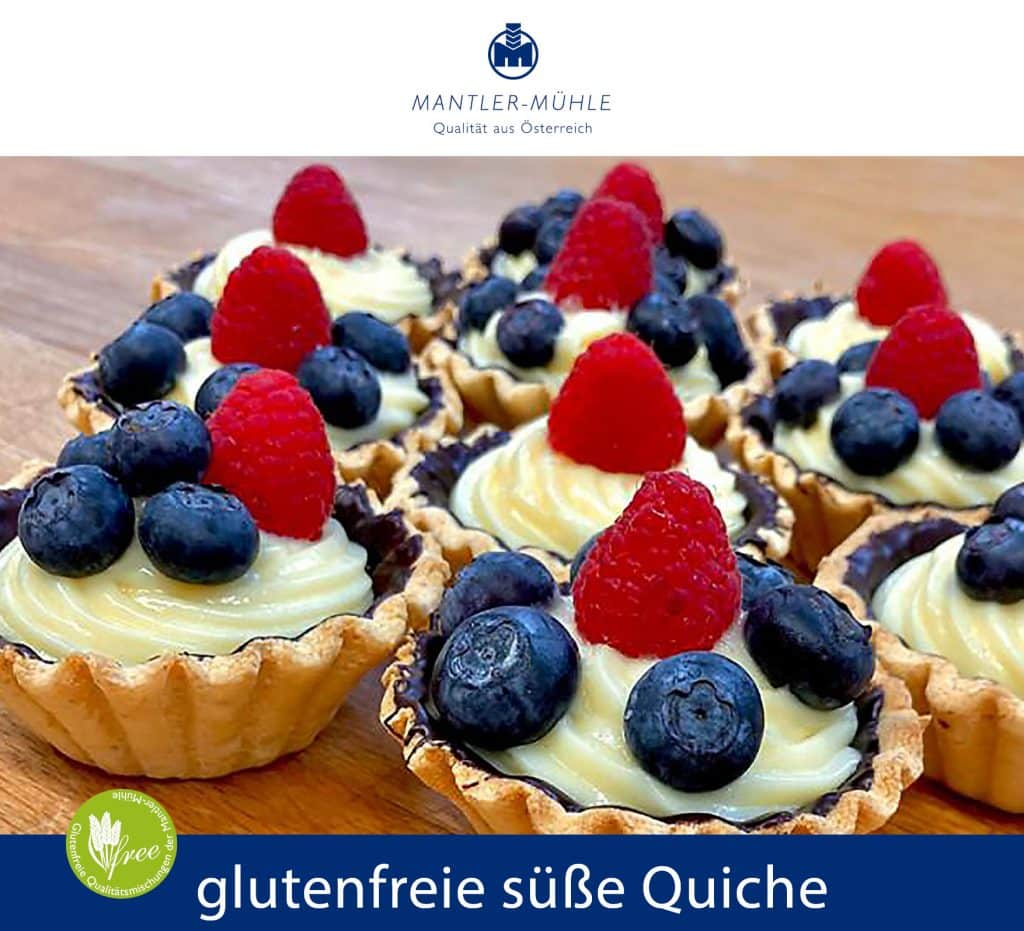 Rezept für eine glutenfreie süße Tarte – die perfekte Basis für die verschiedensten Füllungen!